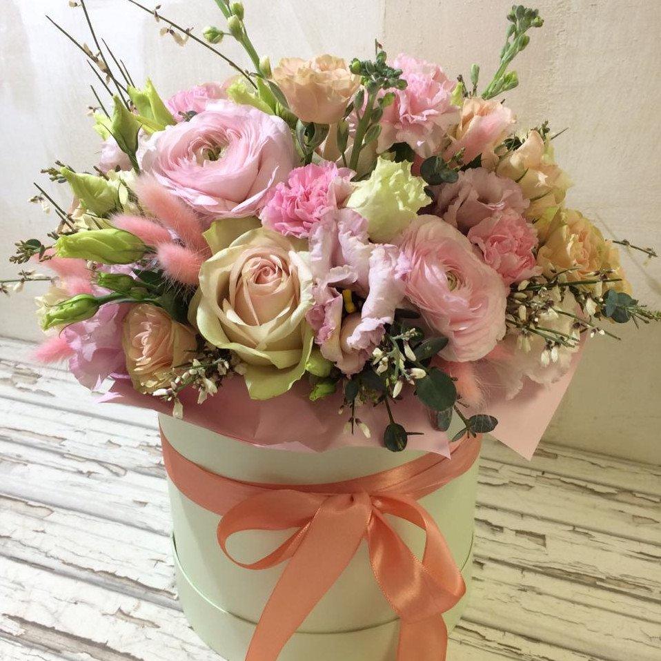 Arrangement Box 5 Roses Ee